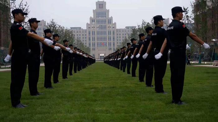 保安团队展示